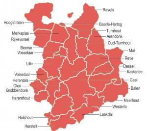 regiokaart-kempen