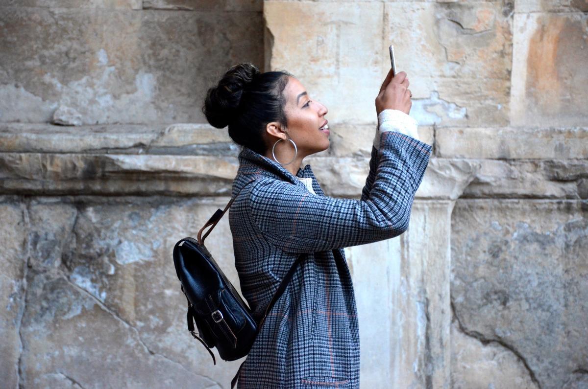 Phonography: fotografie met een smartphone. Foto: Angela Franklin /unsplash